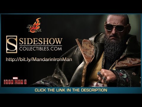 Iron Man 3 Hot Toys The Mandarin Movie Masterpiece 1/6 Scale Collectible Figure Review