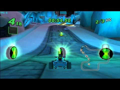 Ben 10: Galactic Racing on Dolphin 3.0 - Nintendo Wii Emulator