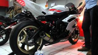 8. YAMAHA YZF R6 2010 US SPEC AFTER ECU FLASHED - ONE3MOTOSHOP
