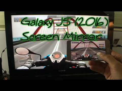 Screen Mirror Galaxy J5 to HDTV: Netlix, YouTube, Games, Video, Photos, etc