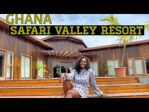 The Safari Valley Resort - Ghana's Safari Paradise.(Adukrom, Eastern Region)