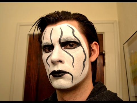 Sting Makeup Tutorial - WCW, TNA, WWE RAW