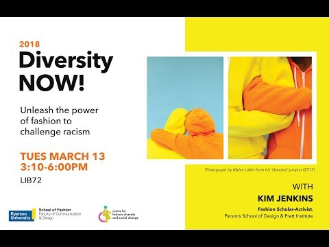 Fashion and Race: Kim Jenkins Lecture (Part 1)