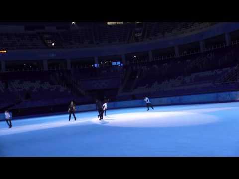 Sochi 2014 Olympics Figure Skating Gala Finale Rehearsal