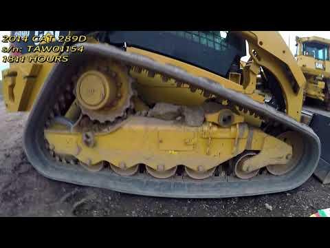 CATERPILLAR MULTI TERRAIN LOADERS 289D equipment video XDfYvTAy10Q
