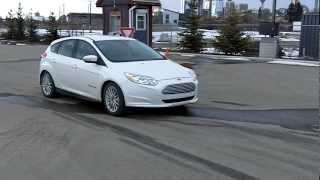 2012 Ford Focus Electric With TEST DRIVE&Review