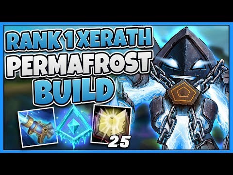 #1 XERATH WORLD NEW GLACIAL AUGMENT STRATEGY (NEVER MISS A SKILLSHOT) - League of Legends