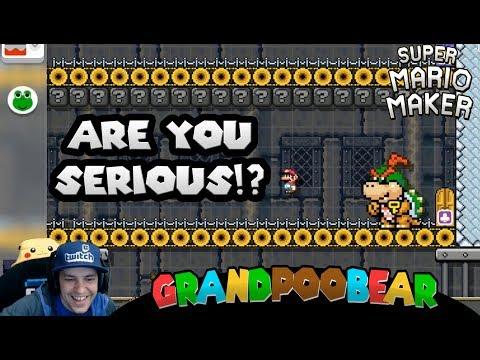 How To Improve Your Mario Maker Levels: Advice From GrandPooBear! (видео)