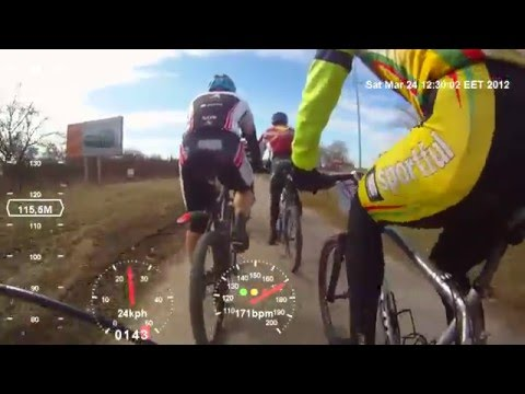 Rekyva 2012 – MTB Race (first person)