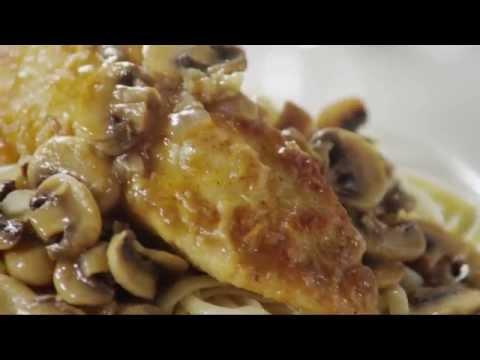 Chicken Recipes – How to Make Mushroom Chicken Piccata