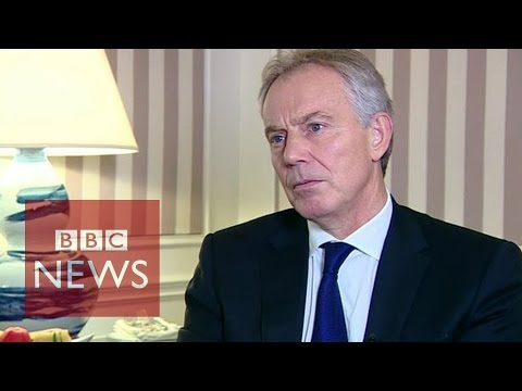 Tony - Former British Prime Minister Tony Blair has told the BBC that it may be necessary to use
