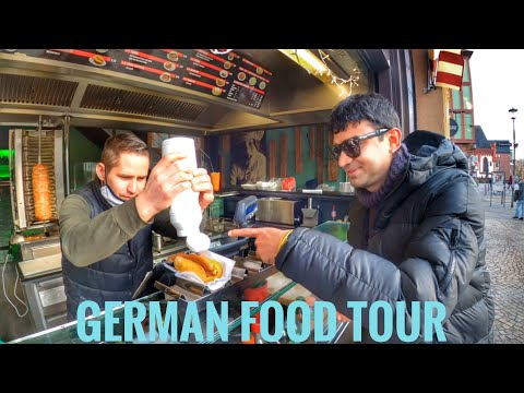 German Street Food Tour in Frankfurt, Germany   Original Frankfurter sausage Indianfoodie