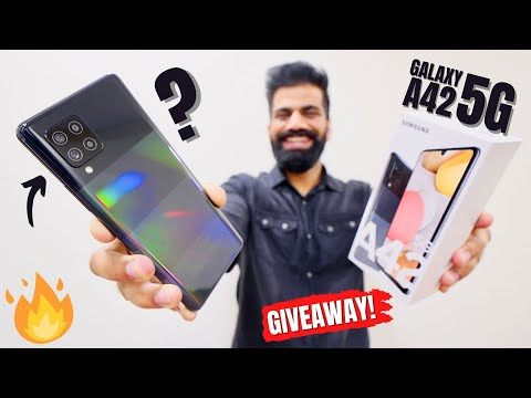 This Special Samsung 5G Smartphone Is For You - Galaxy A42 Unboxing amp First Lookррр