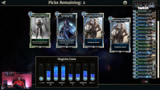 ESRB RATING: TEEN with Violence and Blood.Join us on Bethesda's Twitch channel for our next The Elder Scrolls: Legends livestream, hosted by Pete Hines. We'll be discussing upcoming major announcements while playing matches with members of the community.Subscribe to our Twitch channel and never miss when we go live: https://www.twitch.tv/bethesdaFollow The Elder Scrolls: Legends on social:Facebook: https://www.facebook.com/TESLegendsTwitter: https://twitter.com/TESLegends -- Watch live at https://www.twitch.tv/bethesda