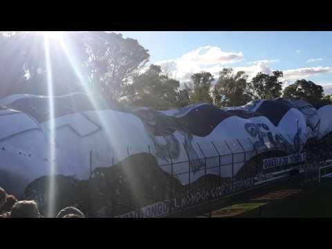 Video - Formacion Inicial + bajada de Telon - La Banda de Fierro 22 - Gimnasia y Esgrima - Argentina