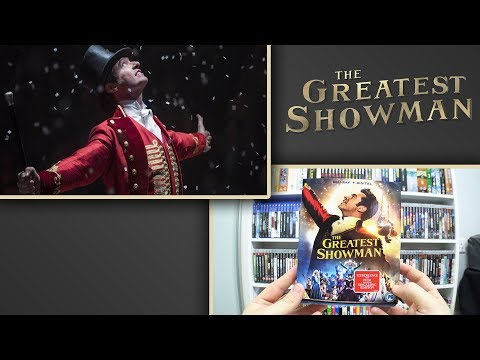 The Greatest Showman {UK} Blu-Ray Unboxing