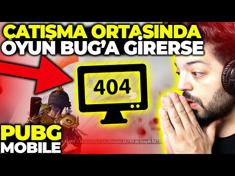 ÇATIŞMA ORTASINDA OYUN BUG A GİRERSE !! FURY EVİ BASKINI PUBG MOBİLE