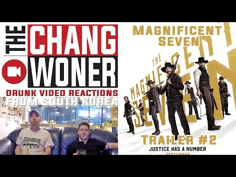 THE MAGNIFICENT SEVEN - Official Trailer #2 Drunk Review