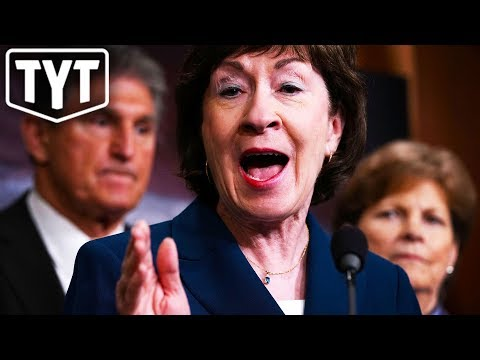 Susan Collins: Liberal Donations Are 'Bribes'