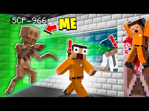 I Became SCP-966 in MINECRAFT! - Minecraft Trolling Video