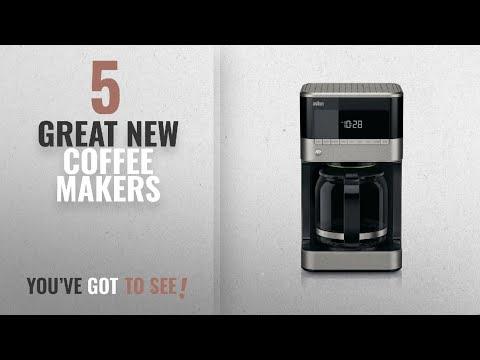 Top 10 Braun Coffee Makers [2018]: Braun KF7150BK Brew Sense Drip Coffee Maker, Black