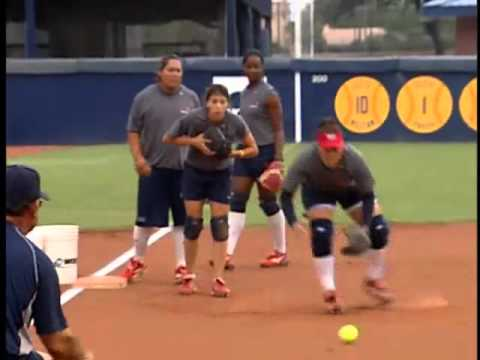 Softball Drills for Infielders