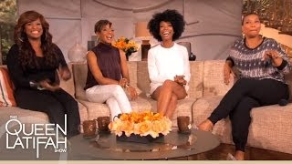 Brandy, MC Lyte, Yo-Yo and Queen Latifah Reunite