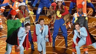 Oscars 2015: 'Everything Is Awesome' Performance Highlights!