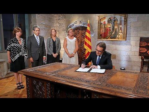 Ισπανία: Πρόωρες εκλογές στην Καταλονία