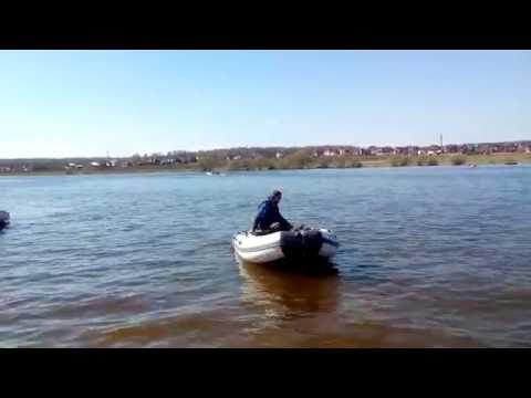 лодка касатка 385 видео
