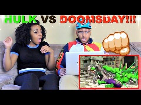 "ScrewAttack ""HULK VS DOOMSDAY | DEATH BATTLE! (MARVEL VS DC)"" Reaction!!!"