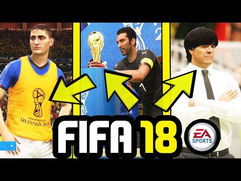 FIFA 18 WORLD CUP AMAZING Realism And Attention To Detail (Frostbite Engine)