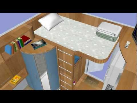 Cube affordable prefabricated tiny houses (qb-33, 9sq/m)