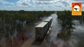 Video Extreme Trucks #6 - Oversize road trains in action on outback Australian flooded roads! Camhinoes MP3, 3GP, MP4, WEBM, AVI, FLV Desember 2018