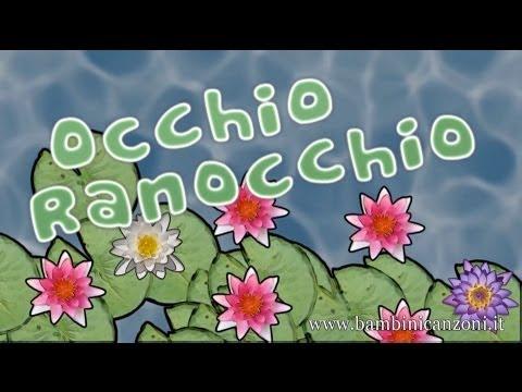 OCCHIO RANOCCHIO - Canzoni per bambini e bimbi piccoli - BABY MUSIC SONGS