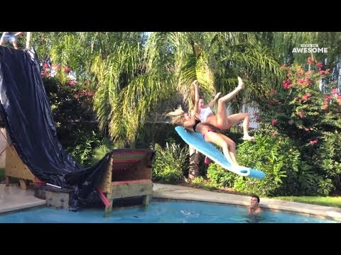 People Are Awesome Swimming Pool Stunts