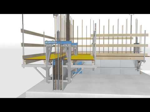 Bitschnau Slipform Animation Gleitschalung, Slipforming FUTURA System