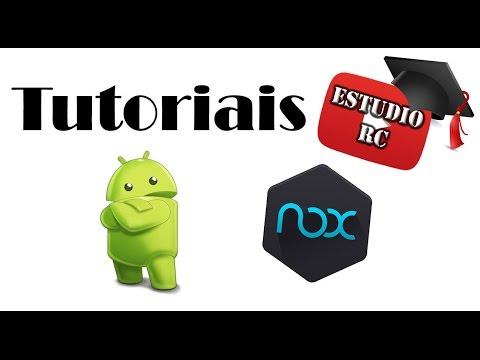Baixar whatsapp - Tutorial - Como baixar, instalar aplicativos androids WhatsApp,Jogos, ets no computador   Nox APP