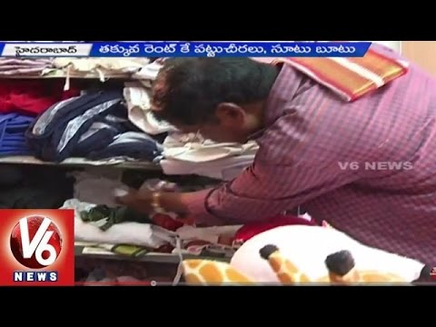 Costume Dresses for Rent | City people shows interest to wear rent dresses - Hyderabad (05-06-2015)