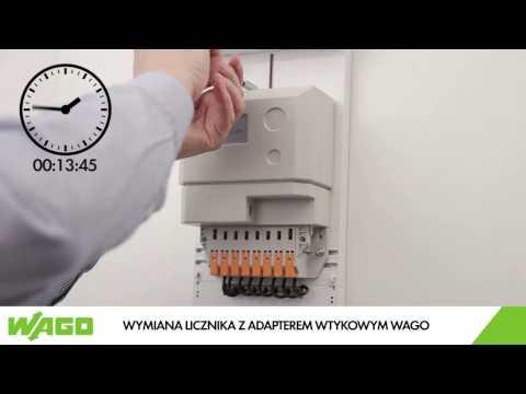 WAGO.PL - Adapter wtykowy do liczników bezpośrednich WAGO
