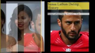 be creativo  Subscribe today and give the gift of knowledge to yourself or a friend Sanaa Lathan Dating History1 : Sanaa Lathan Dating History2 : Sanaa Lathan was rumored to be with Denzel Washington