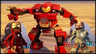 Video LEGO MARVEL AVENGERS - ALL Iron Man Armor In the Game! MP3, 3GP, MP4, WEBM, AVI, FLV Mei 2019