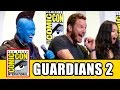 GUARDIANS OF THE GALAXY 2 Comic Con - Chris Pratt, Zoe Saldana, Karen Gillan, Dave Bautista