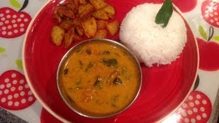 Murungai Keerai Kulambu Or Drumstick Leaves Tamarind Curry