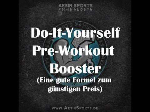 "Der Aesir Sports ""Do It Yourself"" Pre-Workout Booster"