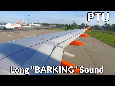 LONGEST Airbus A320 BARKING EVER?! PTU Barking On A320 Engine Start! [Full HD]