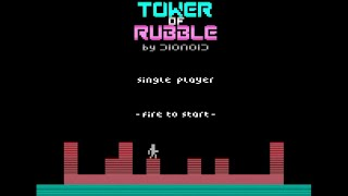 Tower Of Rubble (Atari 2600) by AwesomeOgre