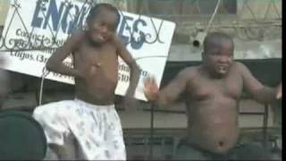Two Nigerian Kids Dancing