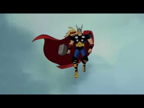 The Avengers: Earth's Mightiest Heroes   Thor vs. the Frost Giants (HD Quality)