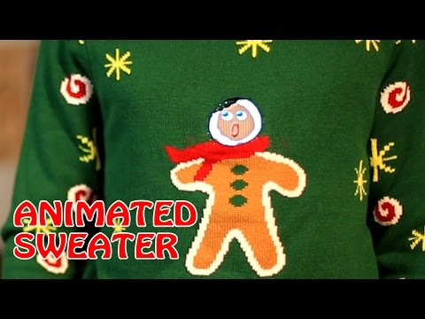 Gingerbread Snack Christmas Sweater For Adults